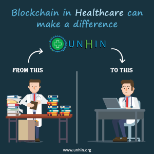 Blockchain technology has the potential to transform health care, placing the patient at the centre
