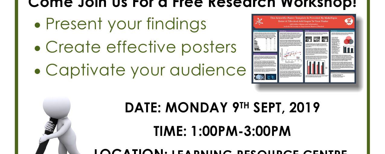 Poster Design Seminar
