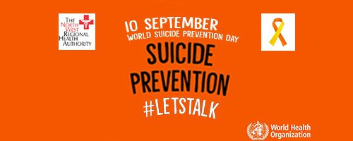 World Suicide Prevention Day 10th September, 2019
