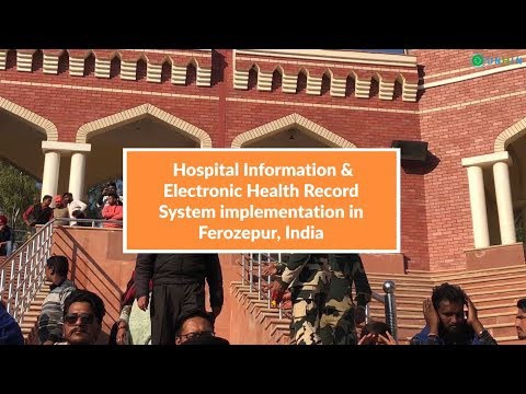 Hospital Information and EHR System Implementation in Ferozepur, India by the UNHIN